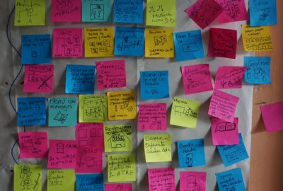 Our local partners in Ecuador adapted to our post it note obsession pretty quickly.