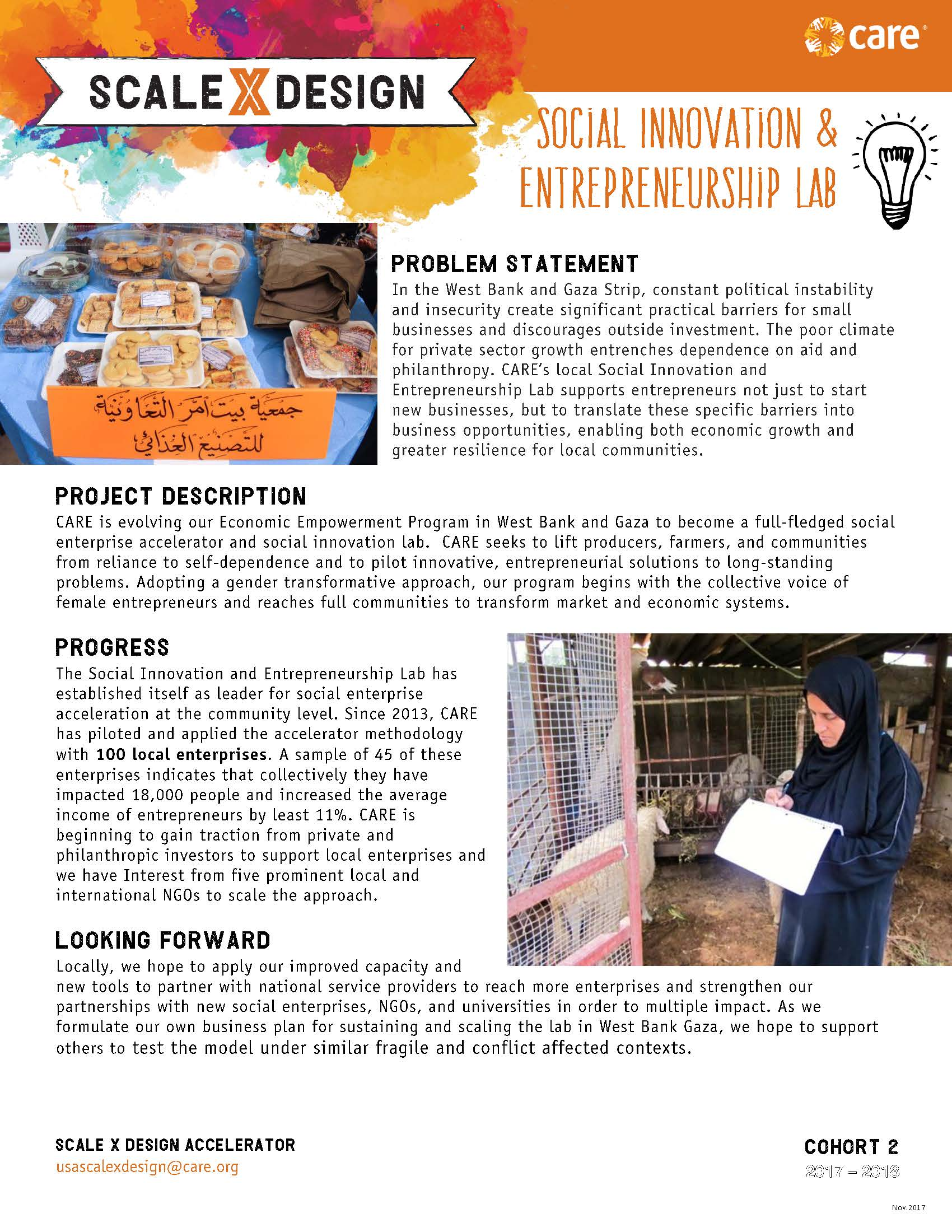 Uptakepreneur: A Social Entrepreneurship Lab